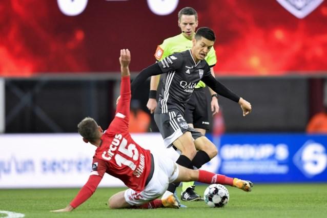 Twee speeldagen effectieve schorsing voor Standard-speler Eden Shamir na tackle met gestrekt been