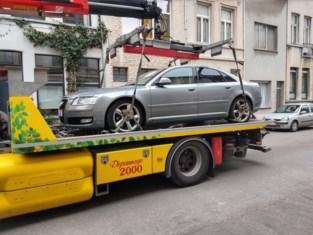 Politie neemt wagen van bestuurder met bijna 285.000 euro aan openstaande boetes in beslag