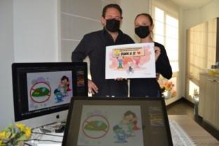 Stripverhaal over corona moedigt kinderen aan om optimistisch te zijn