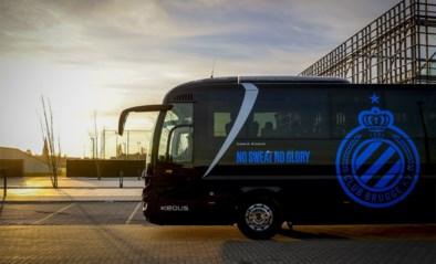 Club Brugge de bus opgestapt richting Dortmund