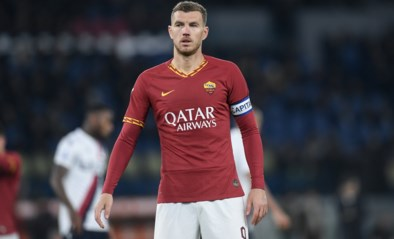Edin Dzeko kan trainingen bij AS Roma hervatten na coronabesmetting