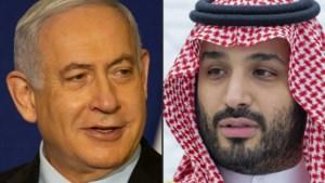 Israëlische premier Netanyahu had zondag geheime ontmoeting met Saudische kroonprins bin Salman en Amerikaanse buitenlandminister Pompeo