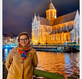 Soroptimisten kleuren Oudenaarde oranje