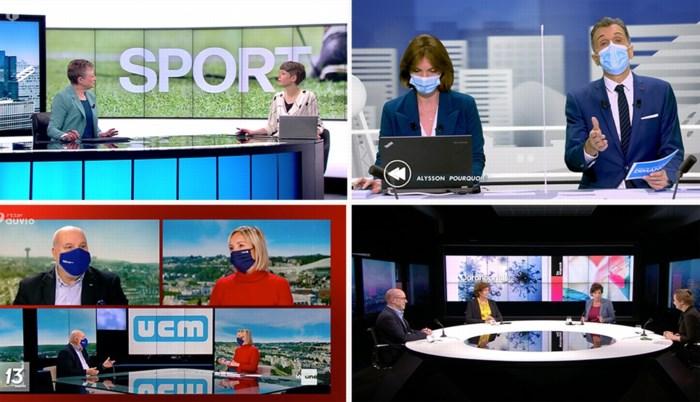 Geen mondmaskers in Vlaamse tv-studio's, maar wel in Wallonië: vanwaar dat verschil?