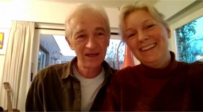 Erik en Sanne steunen verpleegkundigen met bijzondere boodschap