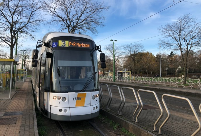 Geen tram tussen Melsele en Linkeroever de volgende vier weken