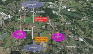 Windmolens krijgen vergunning… maar mogen amper draaien