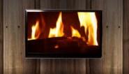 Brandweer opgeroepen voor haardvuur op tv