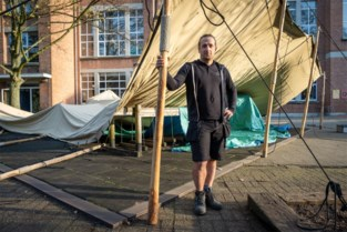 Scholen huren (gratis) tipi tenten om speelplaats coronaproof te maken