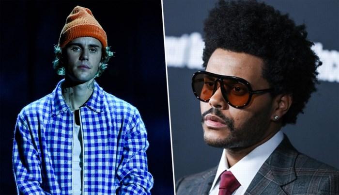 Grumpy op de Grammy's: The Weeknd en Justin Bieber niet tevreden met nominaties muziekprijzen