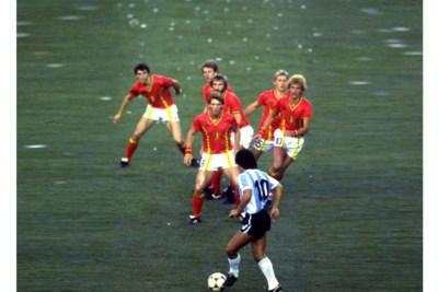 Rode Duivels halen herinneringen op aan Diego Armando Maradona, voetballegende met een veel te kort leven