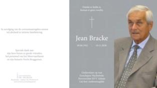 Ereschepen Jean Bracke overleden op 88-jarige leeftijd