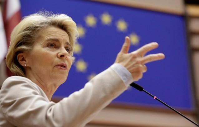 """Europees Commissievoorziter Von der Leyen: """"Onmogelijk te zeggen of er Brexit-akkoord komt of niet"""""""