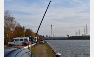 Zoekactie met magneetblok naar wapen van moord Marcel Van Hout negatief