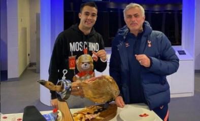 Belofte maakt schuld: Mourinho trakteert speler op peperdure beenham na verloren weddenschap