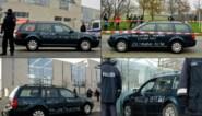 Auto rijdt in op hek aan kantoor van Angela Merkel in Berlijn