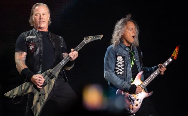 Metallica zamelt 1 miljoen euro in met virtueel concert