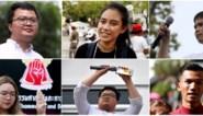 Twaalf leiders van prodemocratische beweging in Thailand verdacht van majesteitsschennis