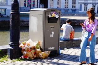 Vuilnisbak bij elke afhaalzaak en asbak voor elk café: Gent voert strijd tegen straatafval op