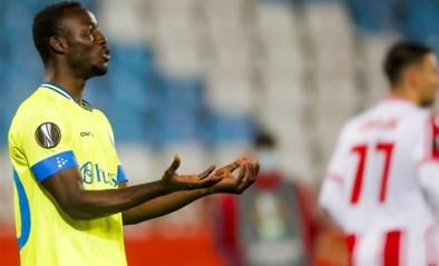 Wim De Decker kiest opnieuw voor Bukari voorin bij AA Gent, Odjidja start op de bank tegen Rode Ster Belgrado