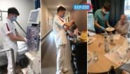 """Leerlingen springen bij in ziekenhuizen en woon-zorgcentra: """"Een ongelooflijke ervaring voor henzelf, een welgekomen hulp voor het zorgpersoneel"""""""