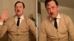 Opschudding in Nederland nadat filmpje uitlekt waarin politicus Hitler imiteert
