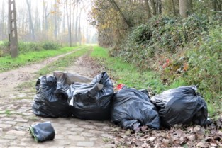 Opnieuw afval gestort in Weerdesteenweg