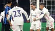 Eden Hazard geeft Real Madrid met doelpunt tegen Inter weer ademruimte in de Champions League, Lukaku blijft achter met 2 op 12
