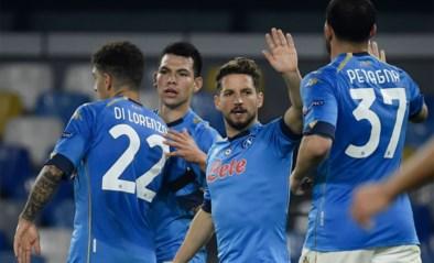 Napoli (met invaller Dries Mertens) eert Maradona met zege, Dennis Praet en Youri Tielemans door naar volgende ronde