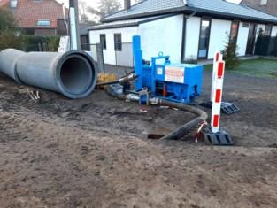 Omleiding vrachtverkeer door rioleringswerken Mortelstraat