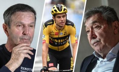 """Eddy Merckx en Roger De Vlaeminck fileren het wielerjaar: """"Wout kan je vergelijken met Roger, alleen had die nooit knecht gespeeld"""""""