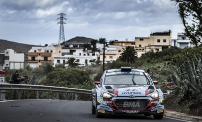 Grégoire Munster moet gokken in rally van Gran Canaria wil hij Europese titel bij junioren veroveren