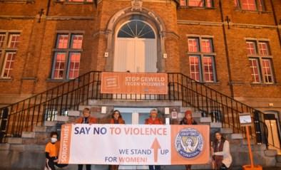 Gebouwen kleuren oranje tegen geweld op vrouwen