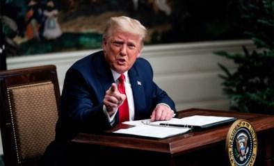 """Trump: """"Ik zal het Witte Huis verlaten als kiescollege Biden verkiest. Maar dan maken ze een fout"""""""