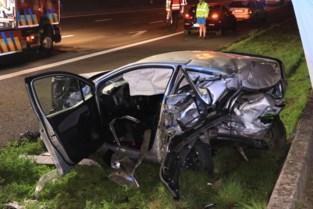 Vrouw (33) zwaargewond bij crash op E17