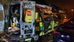 Ziekenwagen uitgebrand tijdens inladen patiënt