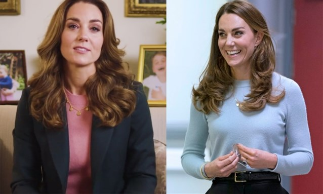 Kate Middleton draagt truitje van Massimo Dutti