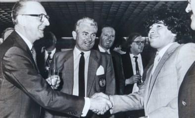 """De Belgische dagen van Maradona, toen God nog een brave schooljongen was: """"Zo timide, zo bedeesd, zo normaal"""""""
