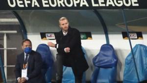 """Wim De Decker toont zich na Europese uitschakeling strijdvaardig: """"Op korte termijn opnieuw drie centrumspitsen"""""""