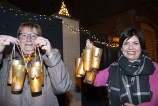 """Bruggelingen hangen massaal lichtjes op: """"En nu maar hopen dat de hele straat meedoet"""""""
