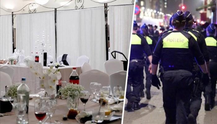 """Lockdown of niet, de Joodse gemeenschap blijft feestvieren: """"Normaal zijn er 400 gasten, dit was in familiale kring"""""""