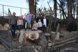 Scouts Ginderbuiten toveren verwilderd stukje grond om tot speelbos