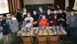 Leerlingen brengen licht en warmte in Moervaartheem