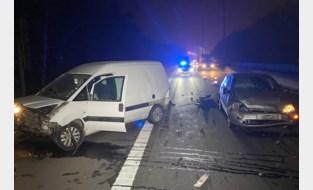 Drie wagens betrokken bij ongeval Op E313 tussen Lummen en Hasselt