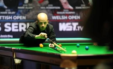 Luca Brecel laat 2-5 voorsprong uit handen glippen op UK Championship snooker