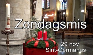 VIDEO. Zondagsmis uit Sint-Germanus online
