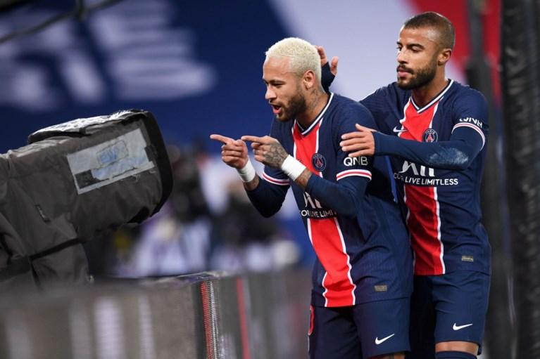 PSG komt ondanks jubileumgoal Neymar niet verder dan gelijkspel tegen Bordeaux