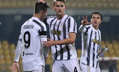 Juventus komt zonder Cristiano Ronaldo niet verder dan gelijkspel tegen promovendus