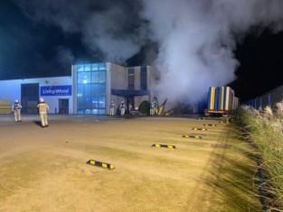 Kantoren bouwbedrijf in Lille uitgebrand