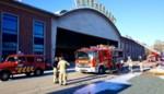 Brandweer heeft heel wat werk met isolatiebrand op site Huygebaert